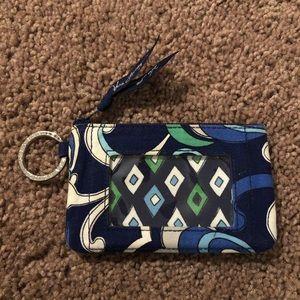 Vera Bradley Key Chain Wallet/Wristlet